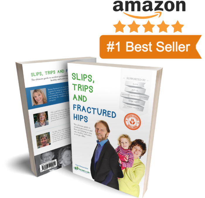 Slips, Trips and Fractured Hips – the No 1 Amazon Best Seller – get your free copy today.