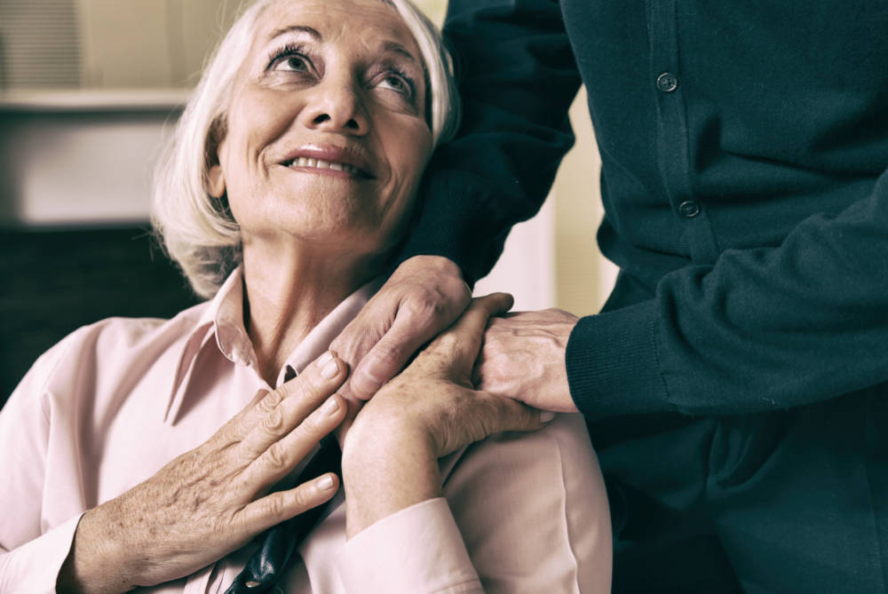 Help for carers of elderly people
