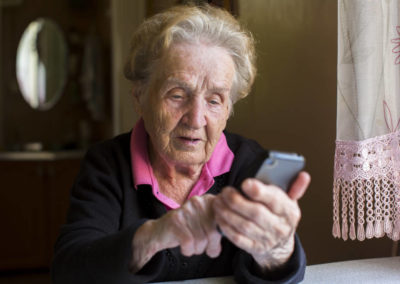 Technology to aid the independent living of the elderly